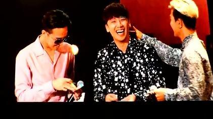 BIGBANG广州FM玩便利贴游戏,龙tory又秀恩爱了