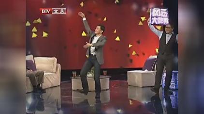 """""""小卓子""""李楠原来是舞蹈出身,做客节目现场展示民族舞,真不错"""