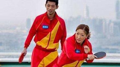 张继科/刘诗雯唯一一次混双出镜,只是可惜了