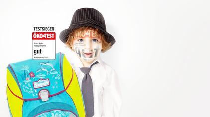 德国小朋友背什么书包?给孩子减负 从一个好书包开始