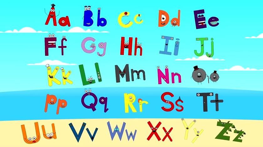ABC Alphabet Song _ 英语儿歌 字母