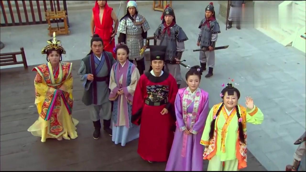 大结局-曹国舅终于成仙,看了亲友们最后一眼,被吕洞宾带走!