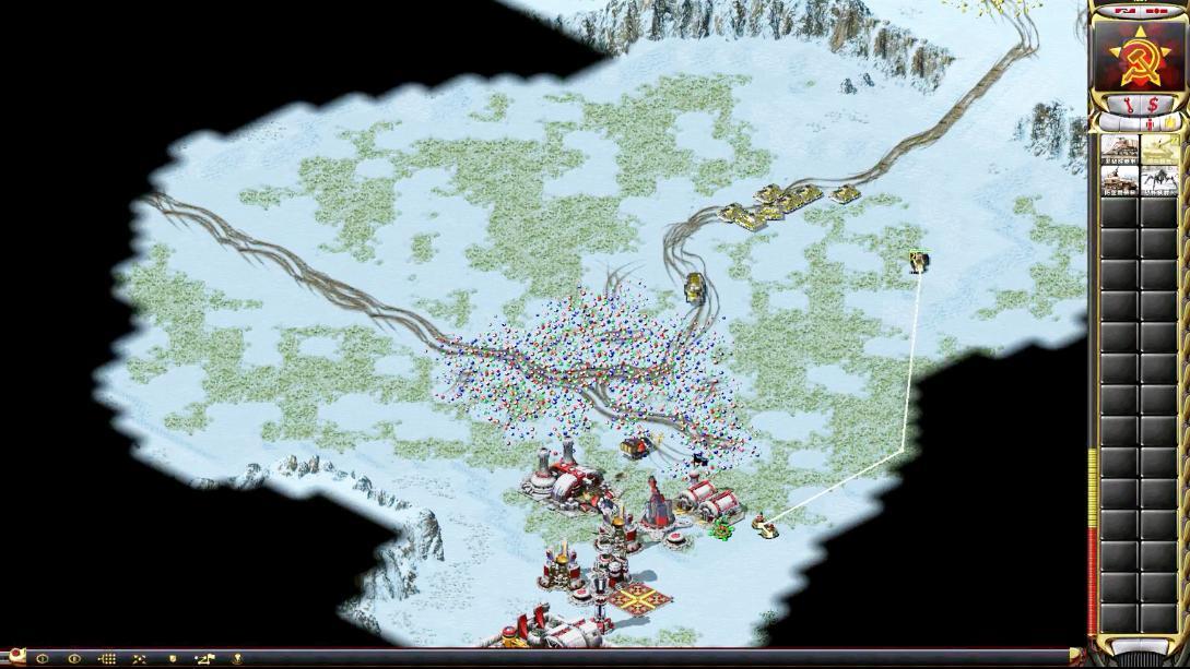 冰天雪地 1v1伊拉克PainVS法国 Cruavin