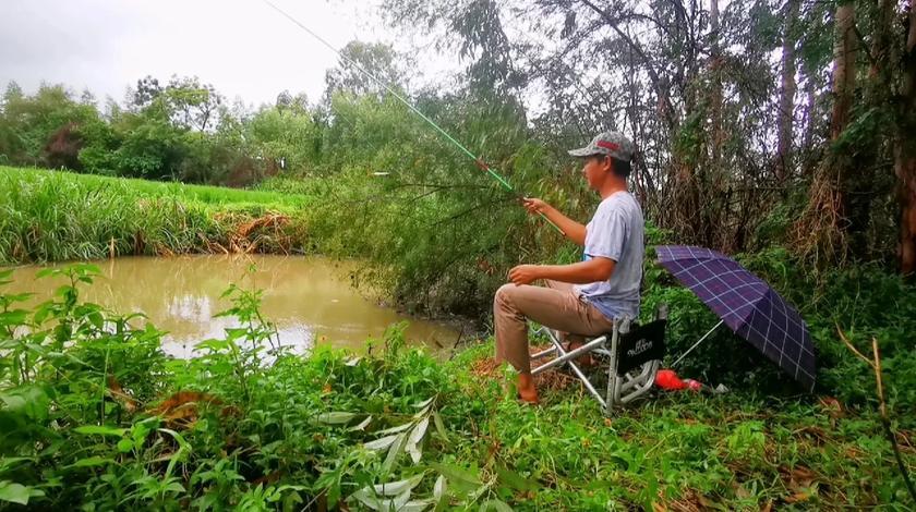 钓鱼我的热爱,钓鱼人集合了,西瓜play比赛开始了