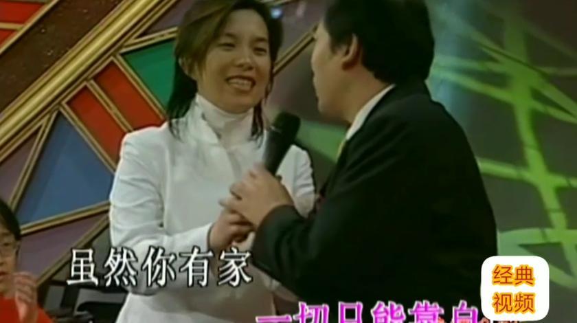 尴尬,潘美辰请知名歌唱家唱《我想有个家》没想到全唱错了