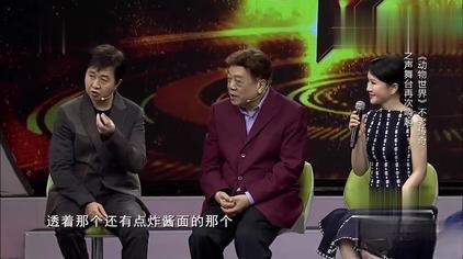 经典:赵忠祥现场配音畅聊《人与自然》,金属磁性的声音!