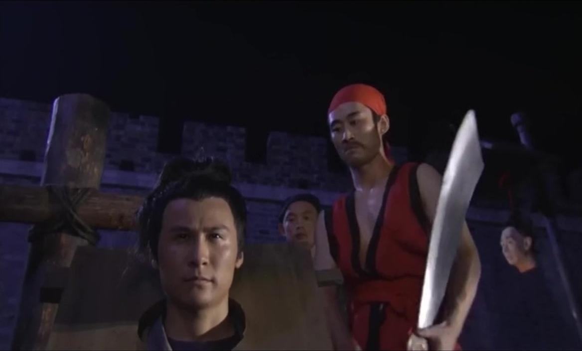 神探狄仁杰:一个死囚居然会有这么好的身手,被斩之际瞬间反杀