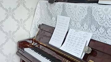 钢琴伴奏天边(宝鸡)