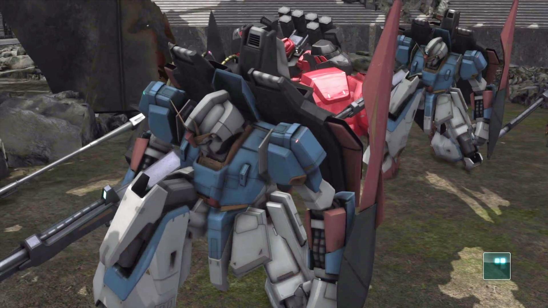 PS4机动战士高达游戏-杀红眼的Z高达