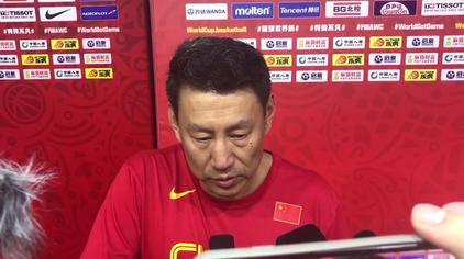 中国男篮主教练李楠