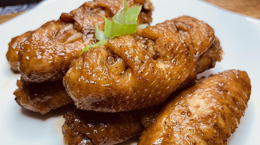 可乐鸡翅的正宗做法,鲜香可口,色泽红亮