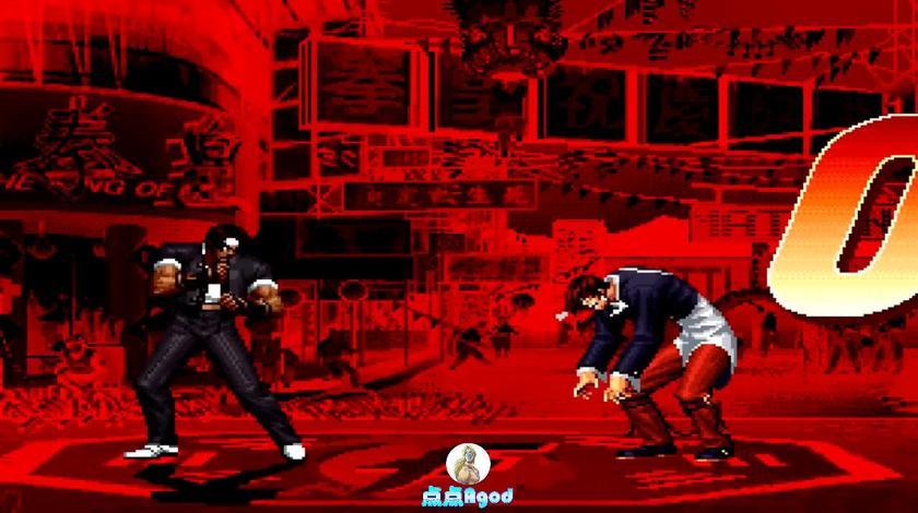 拳皇97:突然来了个里草薙还和疯八神打起来了 这是什么神仙版本