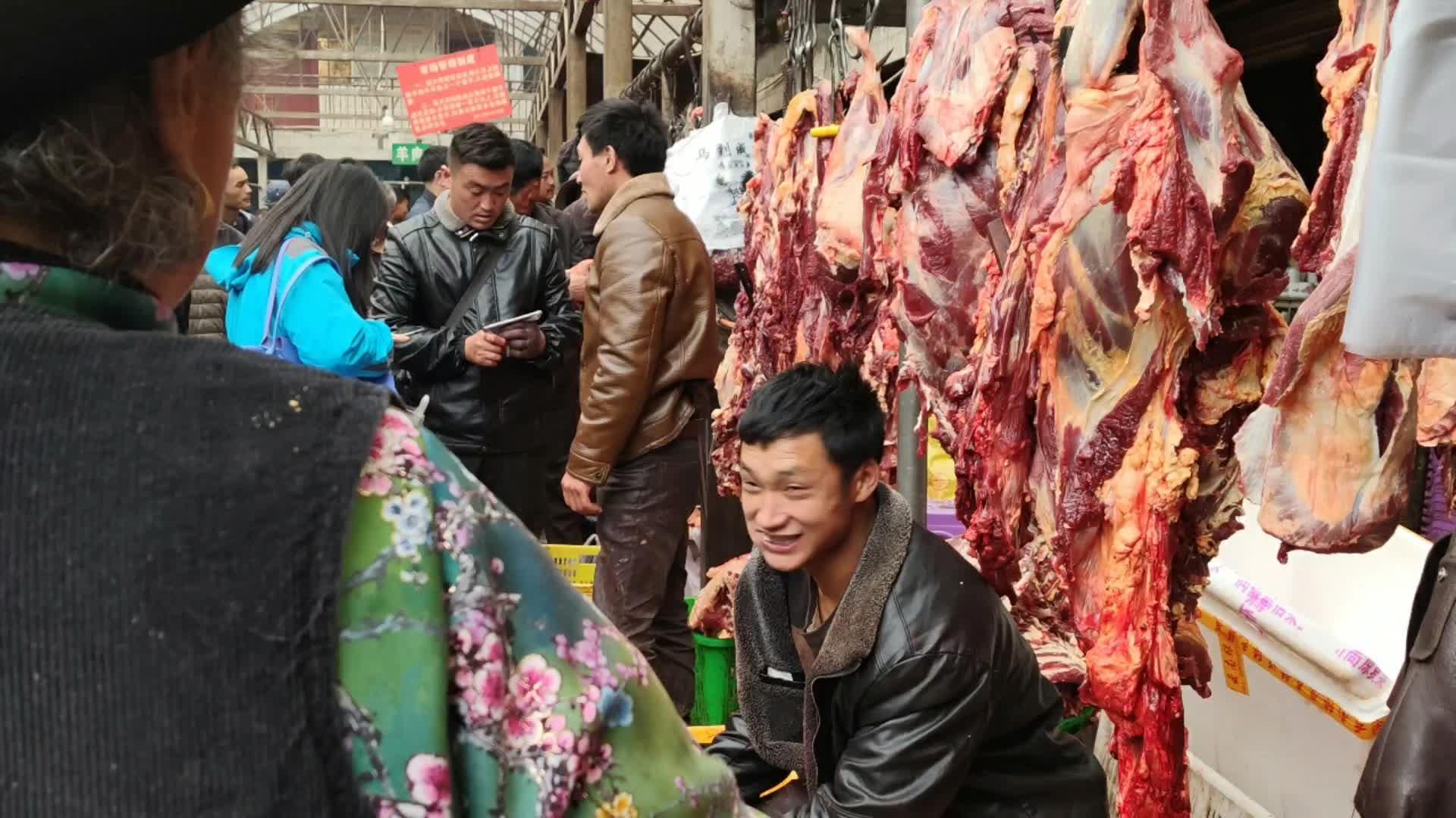 牦牛肉 32块一斤,10斤20斤的买,买到就赚到了