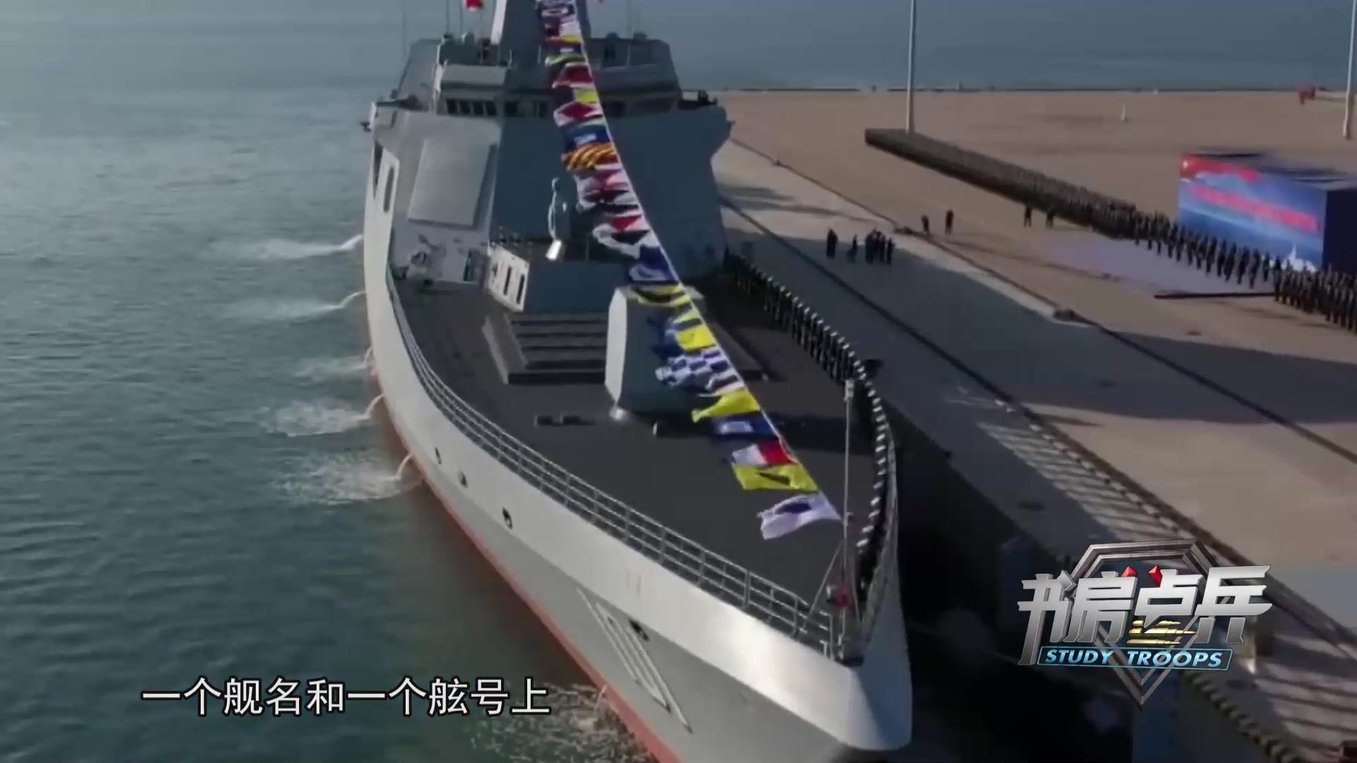 为什么各国执着于万吨大驱?看看南昌舰就知道了,什么叫世界一流