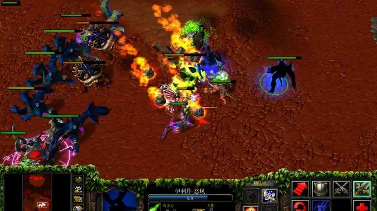 魔兽争霸:这次娜迦族采用了九头蛇部队,助伊利丹重归外域之王!