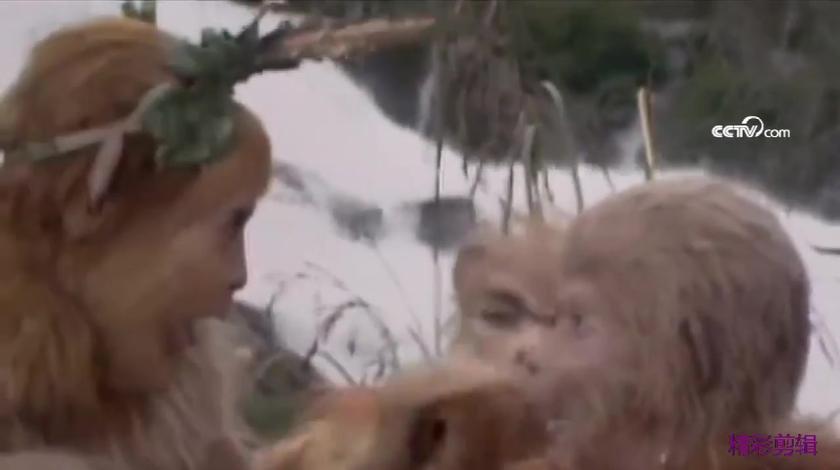 刚从石头蹦出来,就成为了美猴王,厉害吧