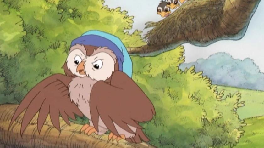 天才宝贝熊:猫头鹰厌烦小鸟们吵闹,鸭子要带它去个安静的地方